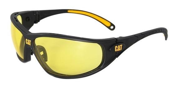 Cat Lentes Gafas Seguridad Mica Amarilla Tiro Caterpillar