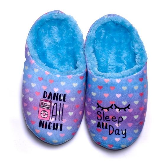 Pantuflas Infantil Mujer Acolchadas Chinelas Sweet Dreams