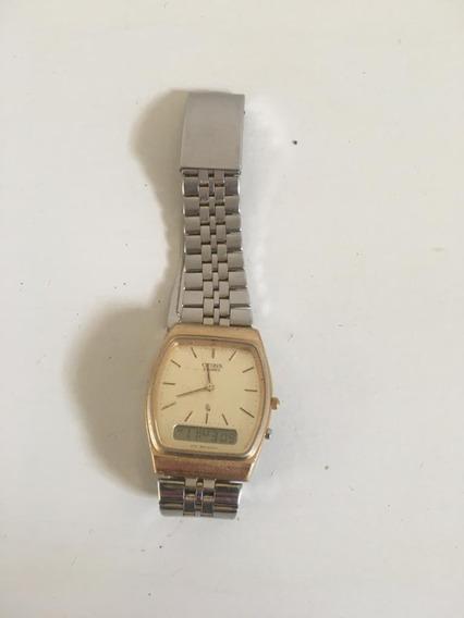 Relógio Citizen - Dourado - Vintage