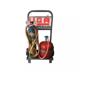 Soldadora Liga Oxi-gas De 1/2 M3 Oxigeno Y 3kg Gas 12 Cuotas