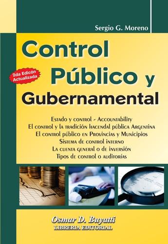 Control Público Y Gubernamental 2° Edicion Sergio Moreno