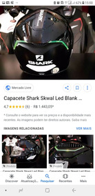 Capacetes Shark Speed R E Skwal Led