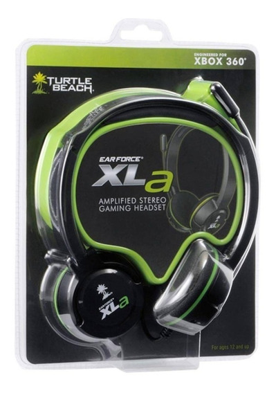 Fone De Ouvido Headset Ear Force Xla Turtle Beach