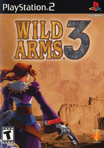 Jogo Wild Arms 3 Ps2