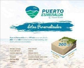 Terrenos De Playa En Puerto Esmeralda, Chelem