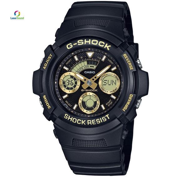 Relógio Casio Masculino Aw-591gbx-1a9dr , C/ Garantia E Nf