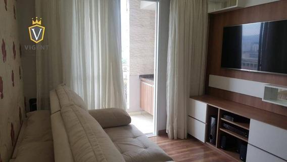 Apartamento Com 2 Dormitórios À Venda, 70 M² Por R$ 380.000 - Practice Club House- Jundiaí/sp - Ap1253