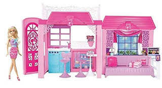 Casa Original Muñeca Barbie Accesorios Fin Semana De Paseo