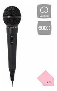 Microfono De Entretenimiento Domestico Dinamico Cardioide De