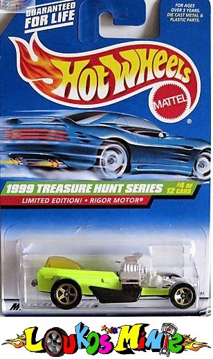 Hot Wheels Treasure Hunt Th 1999 Rigor Motor - 04/12