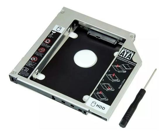 Adaptador Caddy 12,7mm Dvd P/ Hd Ou Ssd Sata Notebook Drive