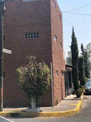 Renta Casa Con Uso De Suelo En San Francisco Culhuacan.