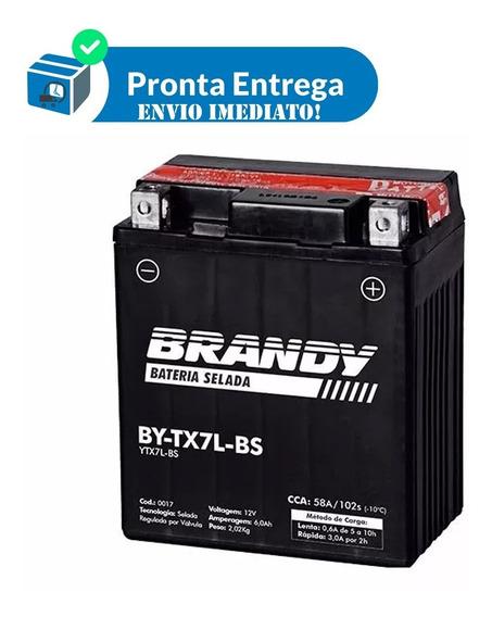 Bateria Moto Melhor Preço Titan 150 Es By-tx7l-bs Brandy