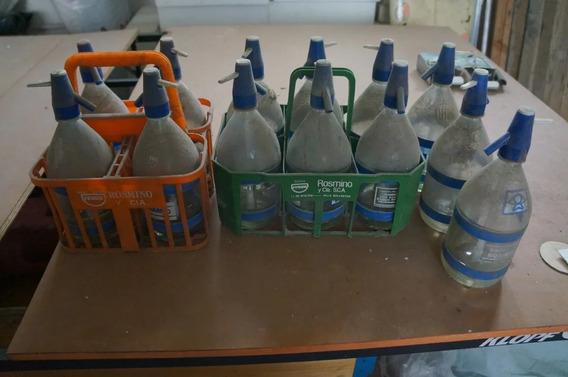 Sifones Y Cajón De Soda Para 4 Unidades