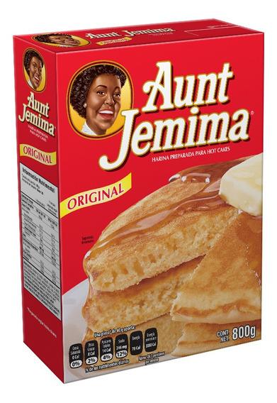 Harina Para Hot Cakes Aunt Jemina 800 Gr