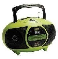 Rádio Am\fm Mini Infantil Ben 10 - Candide