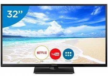 Smart Tv Led 32 Panasonic Hd Wi-fi 12xsem Juros Frete Barato
