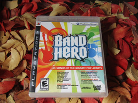 Band Hero - Impecável Mídia Física Ps3 Frete R$ 11,98