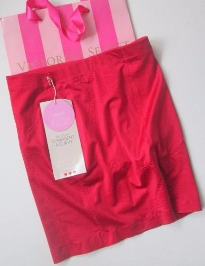 Victorias Secret Faja Moldeadora Roja Fondo Para Falda G