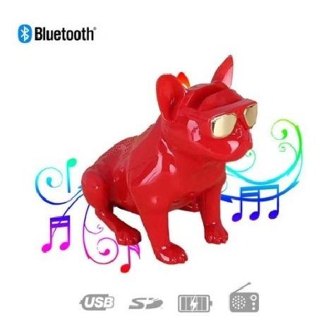 Caixa De Som Bulldog Portátil Bluetooth Aux Micro Sd Fm 638