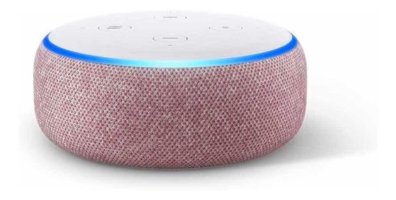 Smart Speaker Amazon Alexa Echo Dot 3 Cores R/pportuguês New