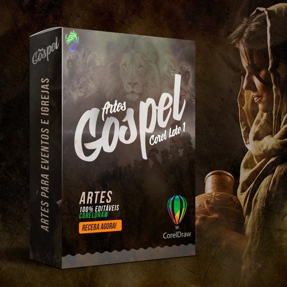 Pack Gospel Worship 1 - Envio Imediato - Para Coreldraw