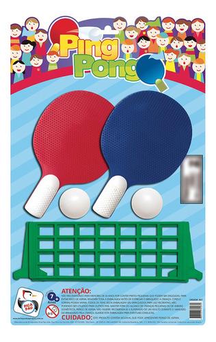 Imagem 1 de 2 de Brinquedo Didático Infantil Jogo Tênis De Mesa Pica Pau