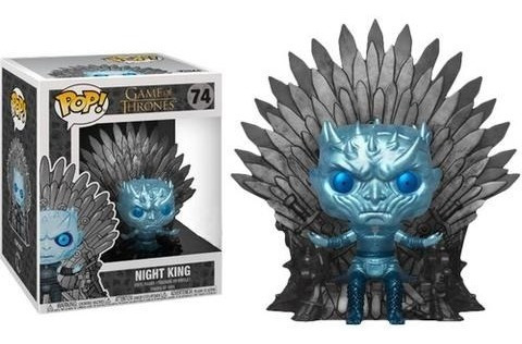 Funko Pop Game Of Thrones Night King Metalico 6 Pulgadas(74)