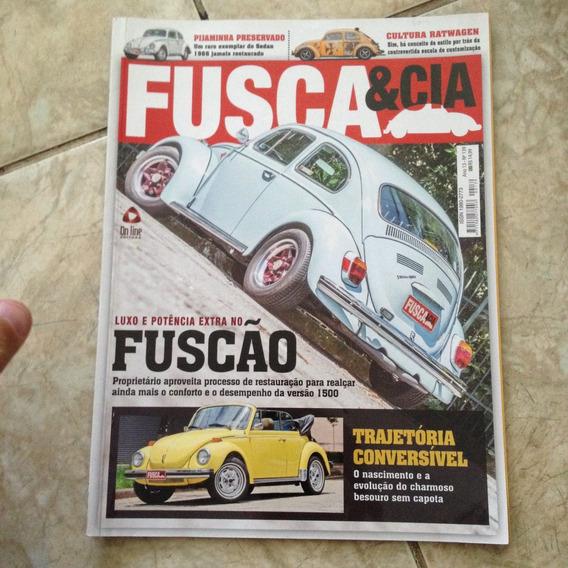 Revista Fusca & Cia 139 Luxo E Potência Extra / Conversível