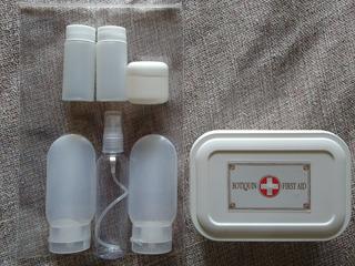 Set De Viaje Líquidos+ Botiquín - Apto Cabina - Reutilizable