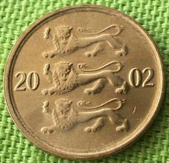 Estonia : Moneda De 10 Senti 2002 S/c