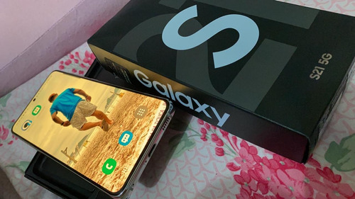 Imagem 1 de 3 de Samsung S21 Branco 128gb