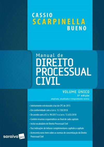 Manual De Direito Processual Civil - Volume Unico - 5ª Ed.