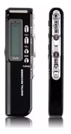 Gravador Digital De Voz Novacom R-70 Mp3 - 8gb