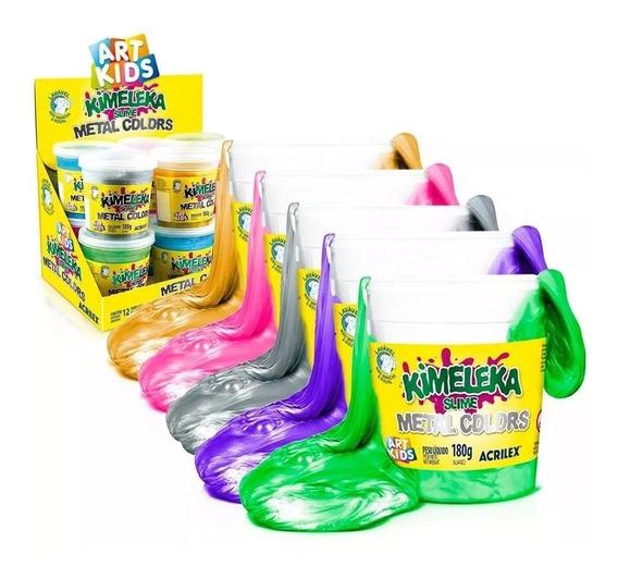 Kimeleka Slime Metal Colors Acrilex