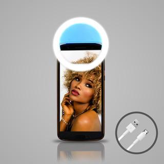 Ring Light Anel Refletor Celular Selfie Filmagens Fotos