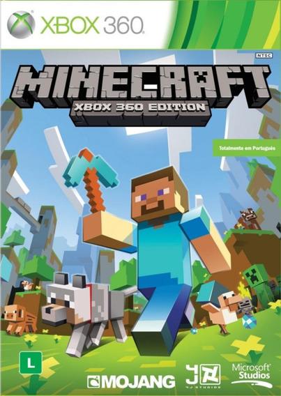 Game Minecraft - Xbox 360 Edition - Microsoft Mojang