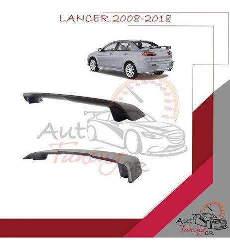 Imagen 1 de 1 de Coleta Spoiler Tapa Baul Mitsubishi Lancer 2008-2018