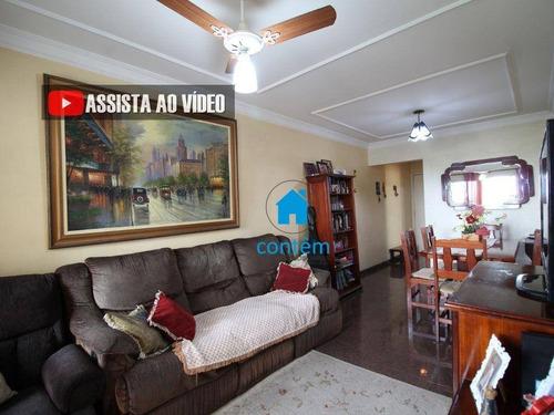 Ap2129 - Apartamento Com 3 Dormitórios À Venda, 85 M² Por R$ 485.000 - Jaguaré - São Paulo/sp - Ap2129
