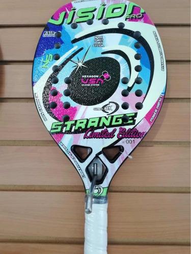 Raqueta De Beach Tennis Vision Strange Pro Limited Edition