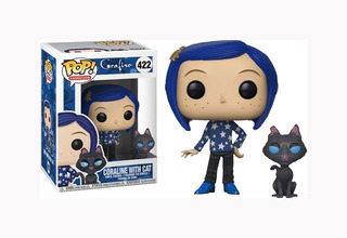 Funko Pop Coraline With Cat Original Tienda Oficial