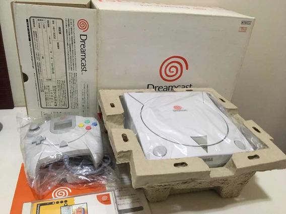 Sega Dreamcast Hkt-3000 Japonês Novo Colecionador