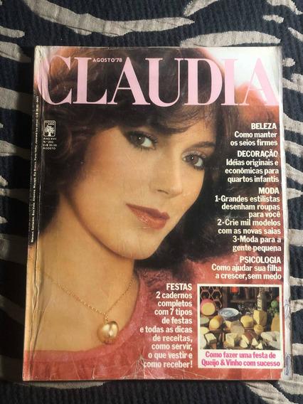 Claudia 78 Anita Farrah F Bia Zezé Mota Richard Burton Moda