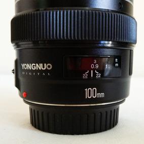 Lente Yongnuo Yn 100 - 100mm F2 - Para Canon