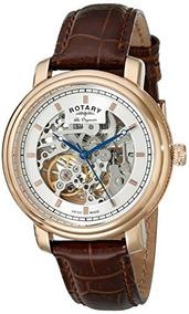 Rotary Hombres S Gs90505 06 Visualización Analógica Reloj Au