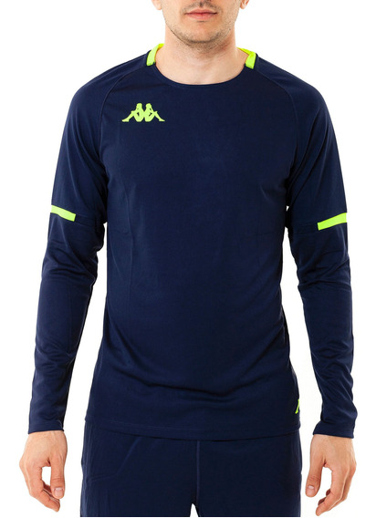 Camiseta Abu 2 Royal-blue Marine M Azul Hombre Kappa