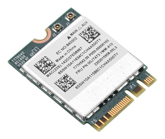 Dual Band 433 Mpbs Rede Ngff M2 Wifi Placa 802.11a Sem Fio