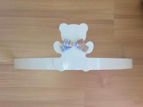 Dossel De Parede Branco Urso P/ Véu Mosquiteiro Berço