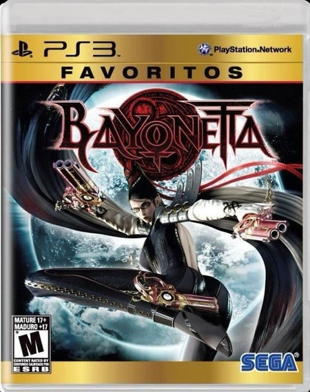 Bayonetta Ps3 Sega Jogo Original Lacrado Mídia Física