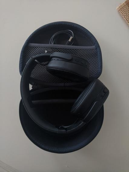 Headphone Skullcandy Crusher Wireless + Hardcase + Softcase